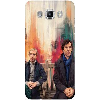 Dreambolic Sherlock And John Mobile Back Cover