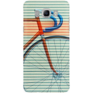 Dreambolic Standard Striped Bike Mobile Back Cover