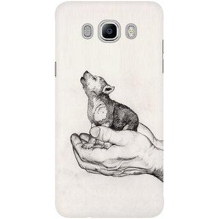 Dreambolic Wolf Cub Graphite Mobile Back Cover