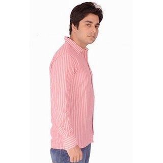 Pink And White Shirt