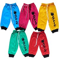 Kids Capri with Rib Assorted Color Pack of 5 Unisex