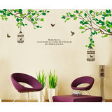 Wall Stickers Wall Art Branches Removable 7128