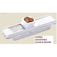 2 In 1 Combo Slicer Dry Fruit Grater, Adjustable Thickness
