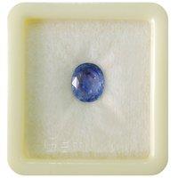 Fedput 7.25 Ratti Blue Sapphire gemstone or neelam stone