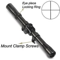 Tactical 4 X 20 telescope Scope Sight