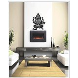 Gloob Decal Style Ganesha Wall Sticker (23*24)