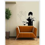 Gloob Decal Style Bruce Lee Wall Sticker (32*47)