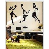 Gloob Decal Style Basketball Team Wall Sticker (56*69)