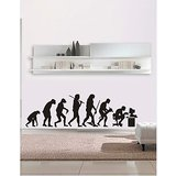 Gloob Decal Style Ape Wall Sticker (82*24)