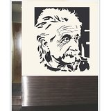 Gloob Decal Style Einsteen Wall Sticker (20*20)