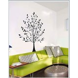 Gloob Decal Style Tree Wall Sticker (64*72)