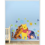 Gloob Decal Style Animal Wall Sticker (52*37)