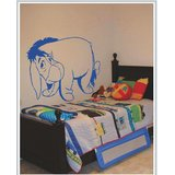Gloob Decal Style Donkey Wall Sticker (30*24)