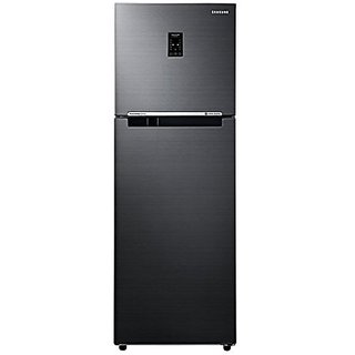 Samsung RT34K3723BS/HL Frost Free Freezer-on-Top Free-Standing Refrigerator (321 Ltrs, 3 Star Rating, Black Inox)