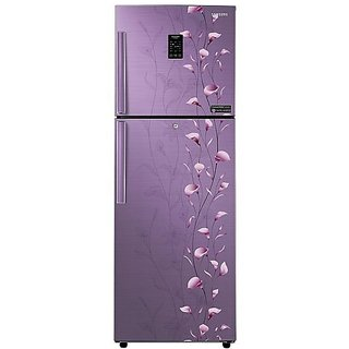 Samsung RT28K3953PZ/HL/NL Frost-free Double-door Refrigerator (253 Ltrs, 3 Star Rating, Tender Lily Purple)
