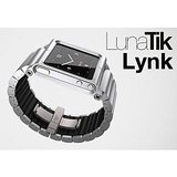 LunaTik LYNK All Aluminum Wrist Band Watch Case For Apple IPod Nano 6 6G Silver