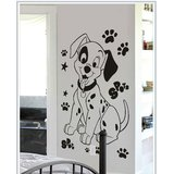 Gloob Deacl Style Dog Wall Sticker (16*25)
