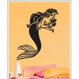 Gloob Decal Style Mermaid Wall Sticker (50*48)