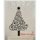 Gloob Decal Style Floral Tree Wall Sticker (35*42)