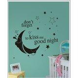 Gloob Decal Style Good Night Wall Sticker (35*32)
