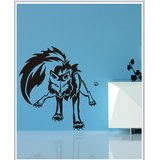 Gloob Decal Style Tribal Lion Wall Sticker (60*64)