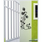Gloob Decal Style Floral Wall Sticker (9*16)