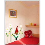 Gloob Decal Style Santa Claus Wall Sticker (40*24)