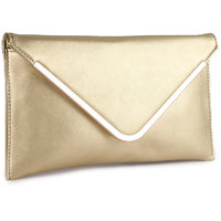 Kleio Designer Party Sling Bag (Gold) BnB761SR-Au