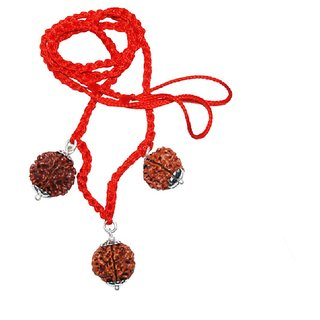 Rudraksha Combination For Confidence/Stress Buster 3 4 6 Mukhi Nepal Lab Certified