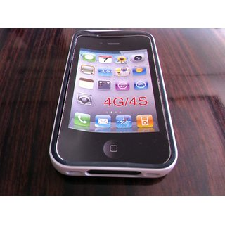 Frosted TPU Soft Gel Back Cover Case For Apple Iphone 4 4G 4S I phone 4 4G 4S