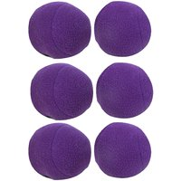 GSI Light Purple Puff Balls For Sports Training With Soft Fleece Material And Cotton Fibre