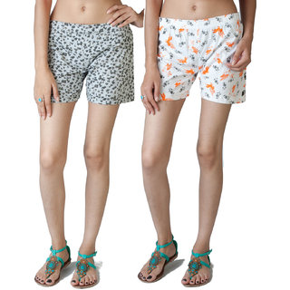 Fabpoppy Women's Shorts Combo
