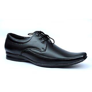 Ideal Black Office Genuine Leather Formal Shoe