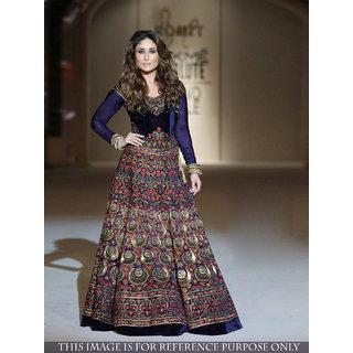 Kareena Kapoor Blue 9000 Velvet Gown