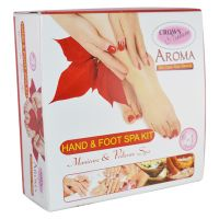 CROWN NATURE GOOD CHOICE 6IN1 HAND  FOOT SPA KIT 270GM