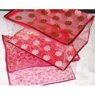 Saree Salwar Suit Cover Dress Protection Cover Garment Storage Box Bag