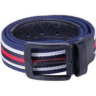 Black Buck Men Casual Multicolor Genuine Leather Belt  (Multicolor)