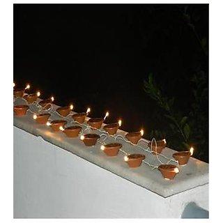 Diya Shaped Diwali Led Rice Lights