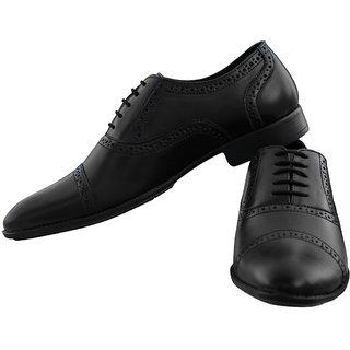 Honos Men's Black Adsila Formal Shoes