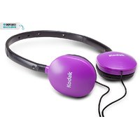 Kodak Premium folding headphones with 6 month warranty (assorted colour)