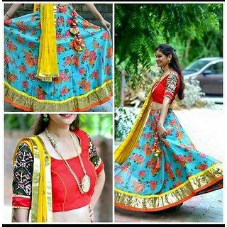 Multi Colour Chaniya choli