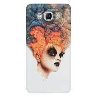 Dreambolic Burning Girl Mobile Back Cover