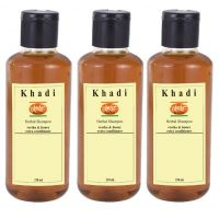 Khadi India HERBAL Reetha  Honey Shampoo with extra conditioner 630 ml 3 Shampoo