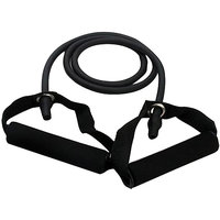 CheckSums (11798) Strech Resistance Band- Premium Quality Latex Fitness Strech Band, Great For Any Resistance Band Workout- Black