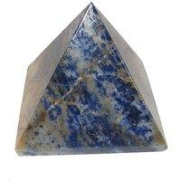 Sodalite Pyramid