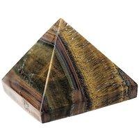 Tiger-Eye Pyramid