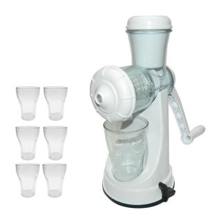 Gold Dust Combo of Apex Juicer with Unbreakable 6pcs Glass