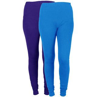 IndiWeaves Women Combo Offer (Pack of 2 Legging)