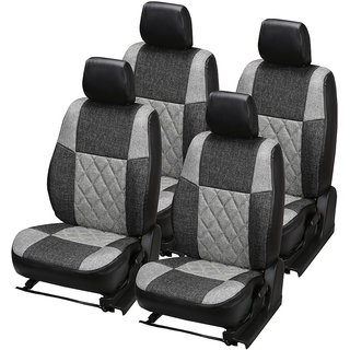 Pegasus Premium Jute Car Seat Cover for Verna Fluidic