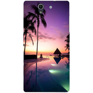 Sony Xperia Z Printed Back Cover by Print Vale